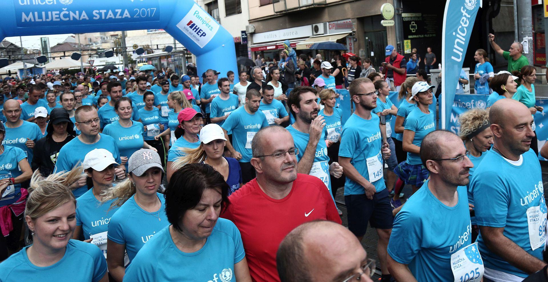 ZAGREB Više od 2 tisuće sudionika na utrci za prvu hrvatsku banku humanog mlijeka