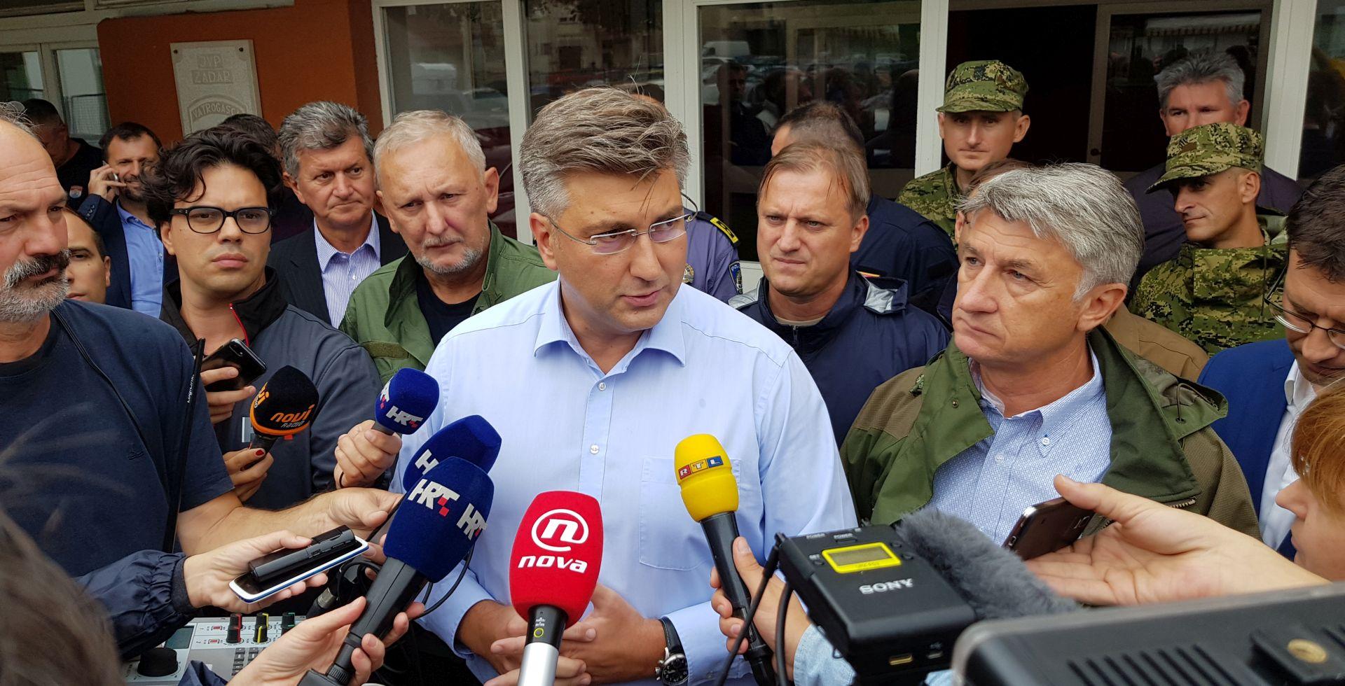 """PLENKOVIĆ U ZADRU """"Važno je da građani dobro prokuhaju vodu prije konzumacije"""""""