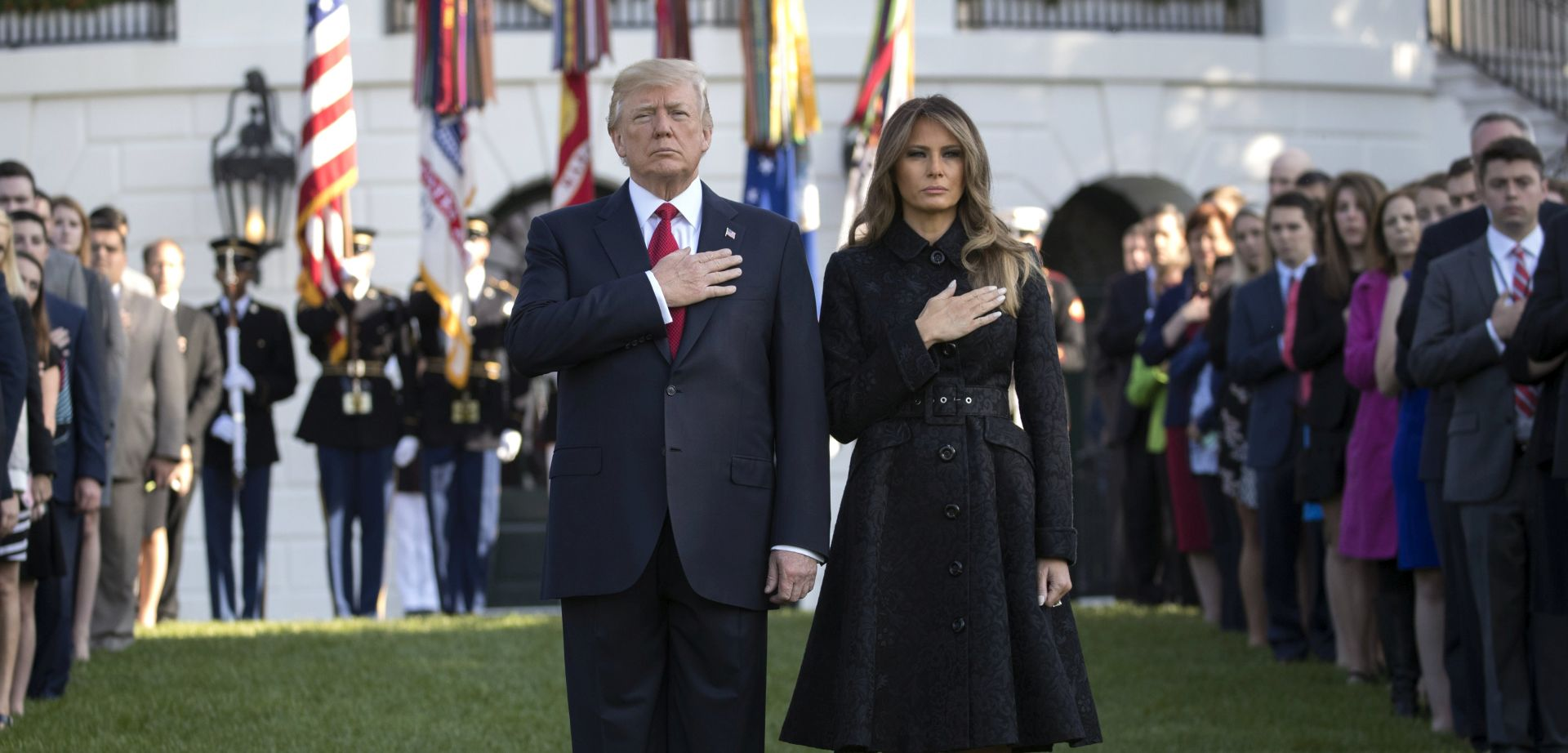 Trump minutom šutnje odao počast žrtvama napada 11. rujna