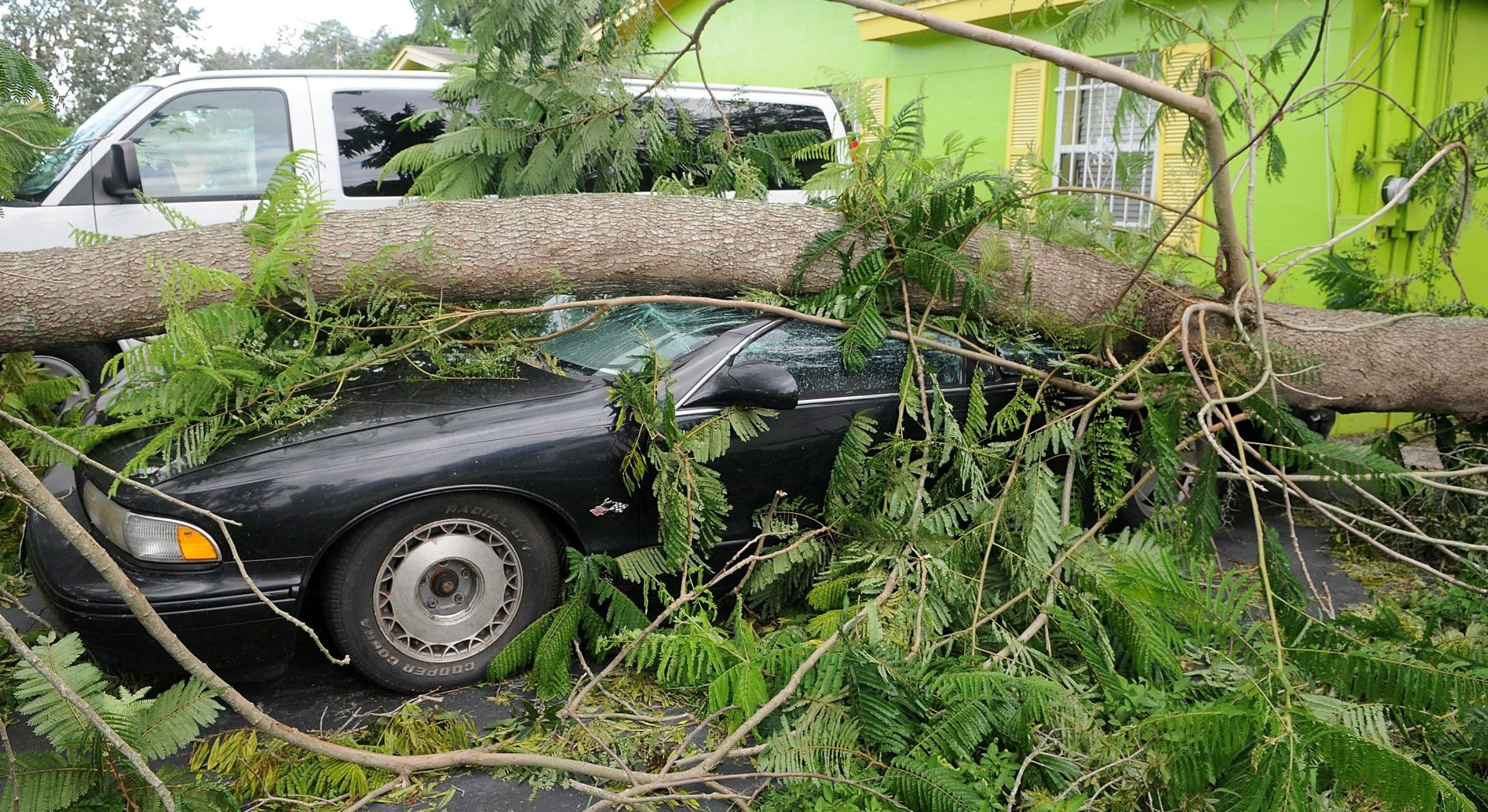 Irma oslabila do tropske depresije
