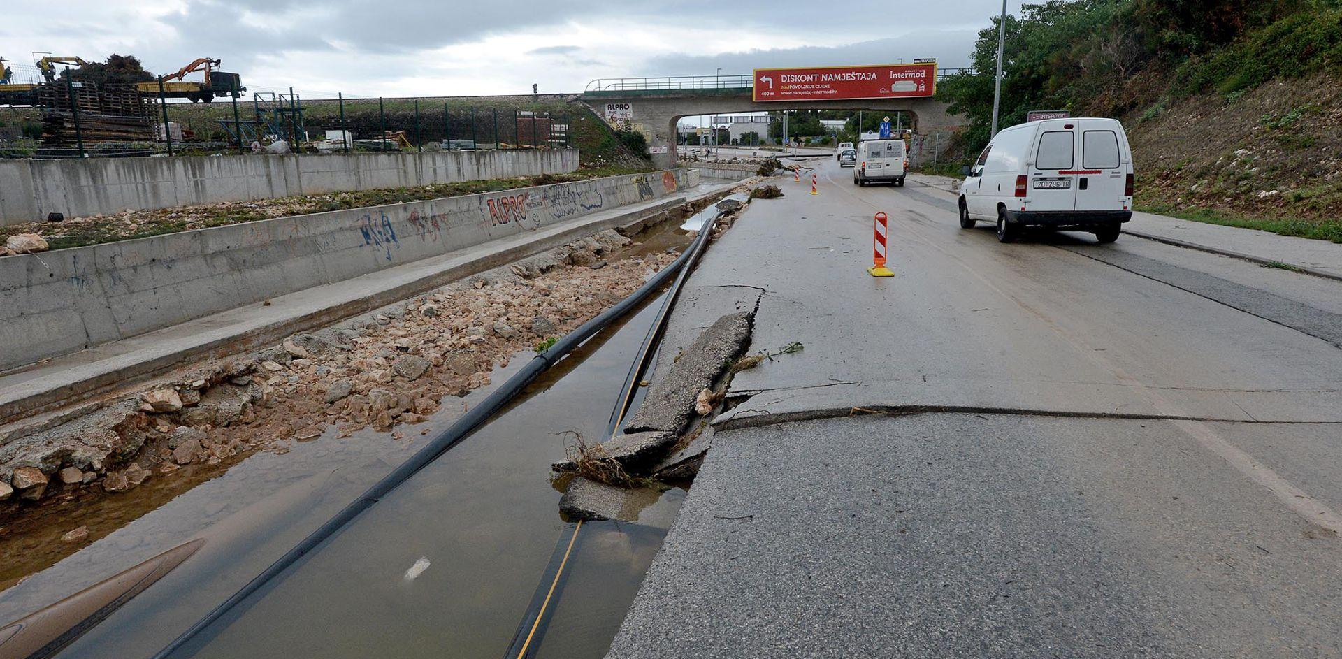 PRVE PROCJENE Zadarski pročistač oštećen za 10 milijuna, državne ceste za 4 milijuna kuna