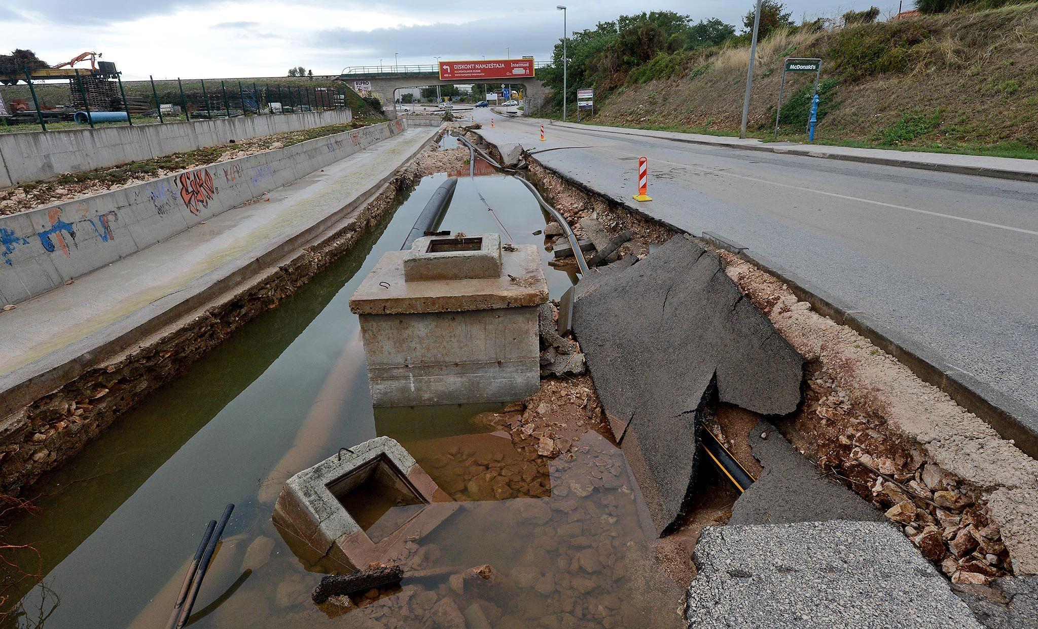 Istra pomaže poplavljenom Zadru