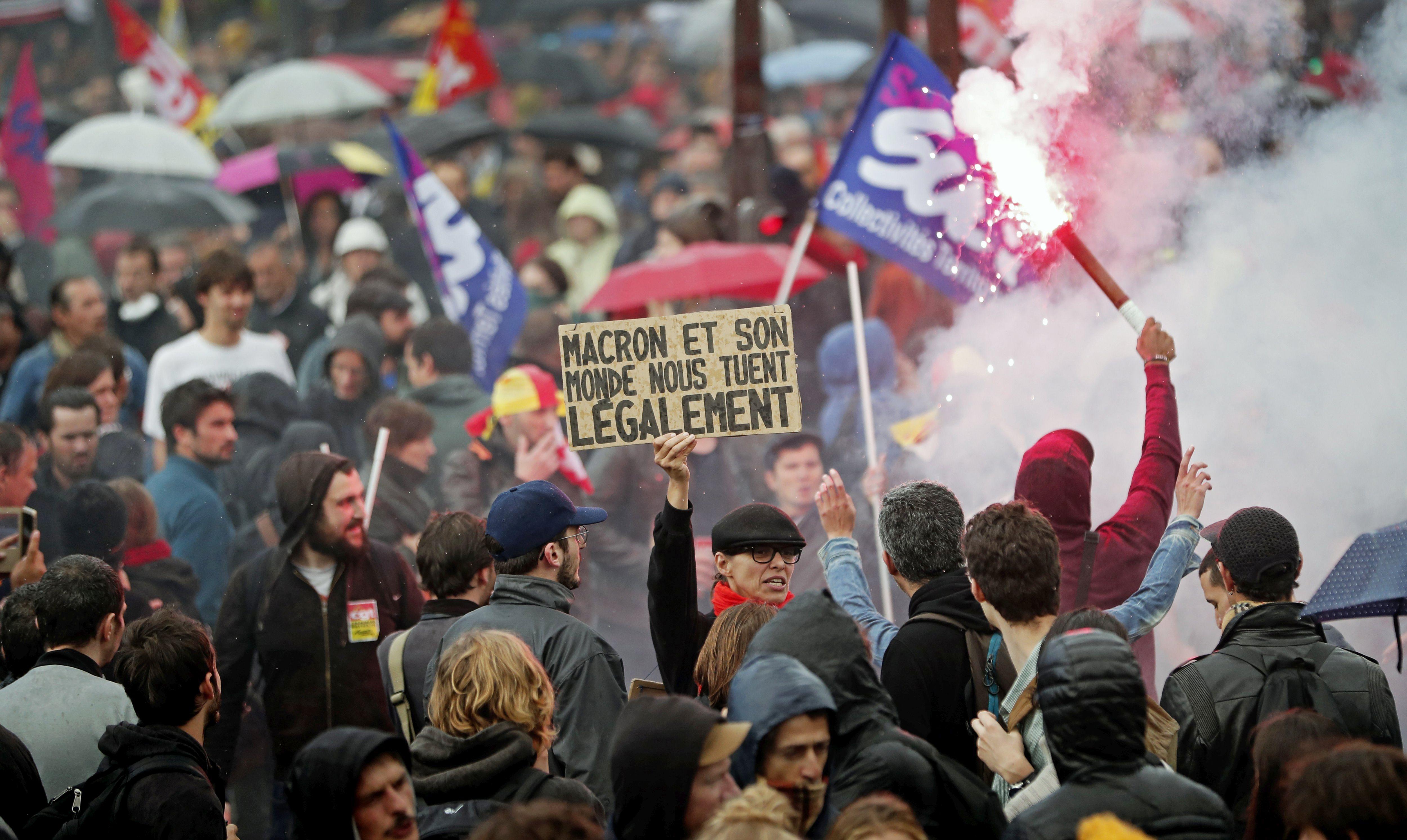 U Francuskoj veliki prosvjedi protiv izmjena zakona o radu