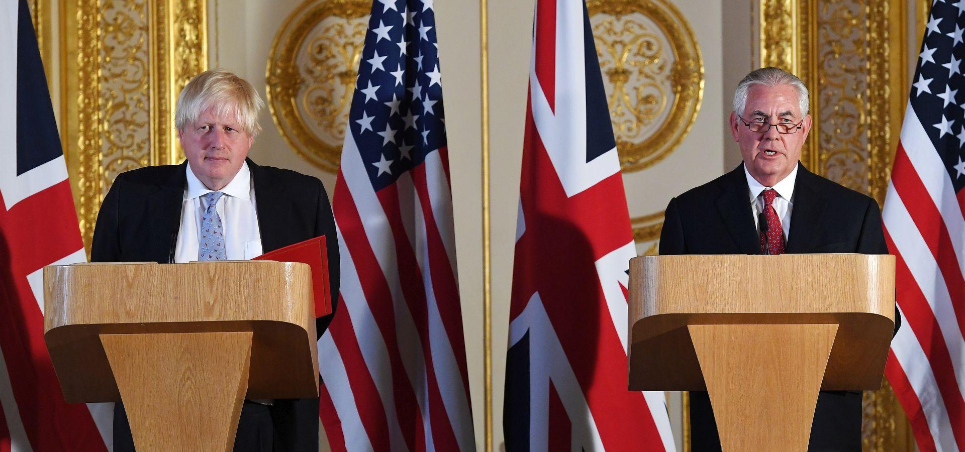 Tillerson u Londonu razgovarao o globalnoj sigurnosti