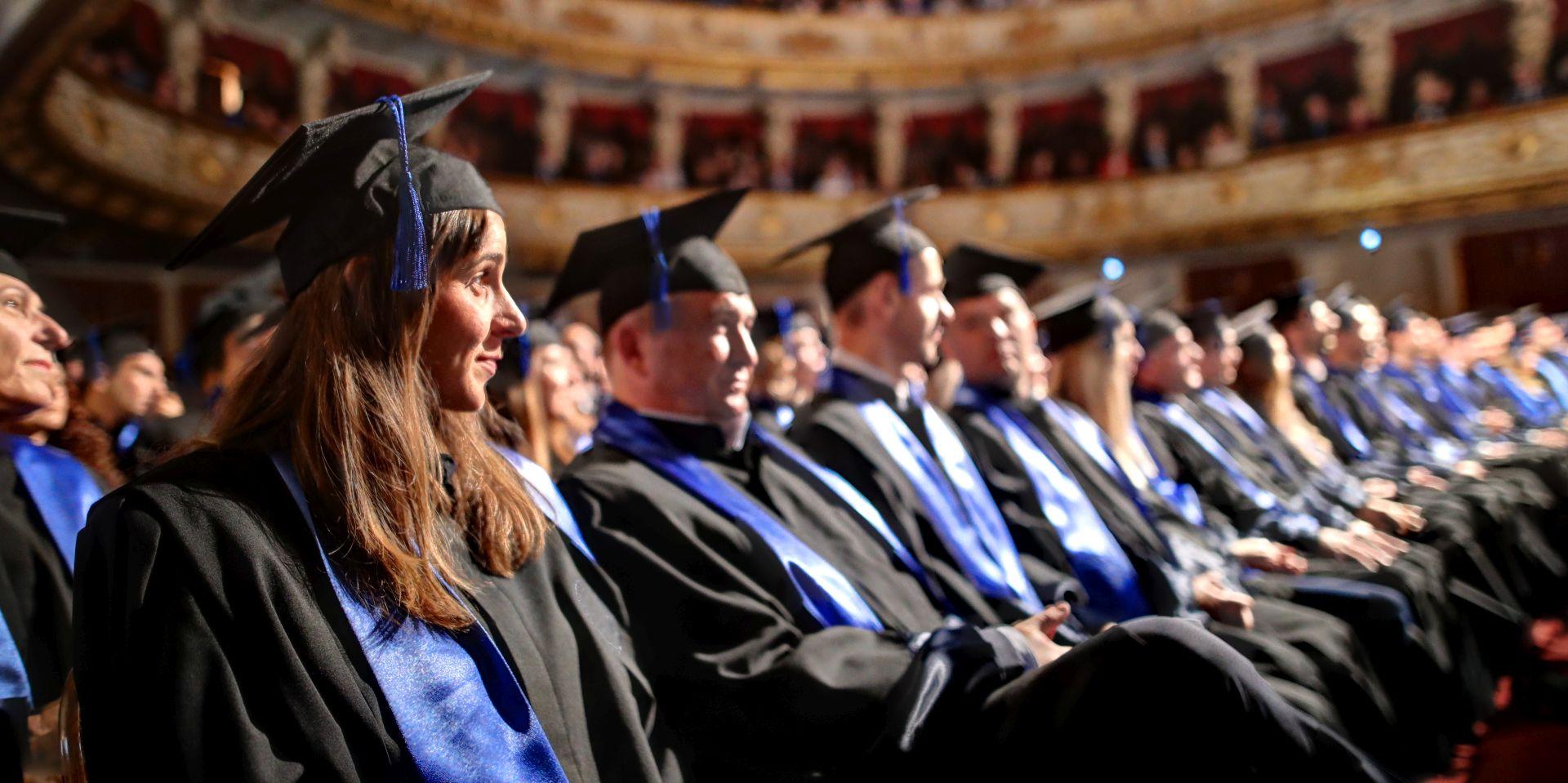 ZAGREB Promovirana 202 doktora znanosti i umjetnosti