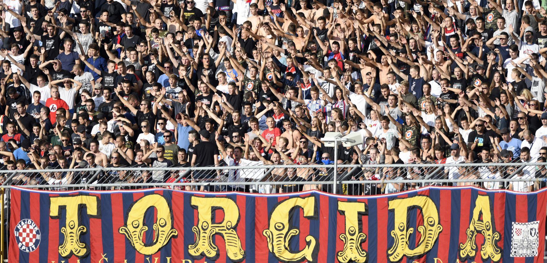 Navijači Hajduka pušteni iz beogradskog zatvora i protjerani iz Srbije