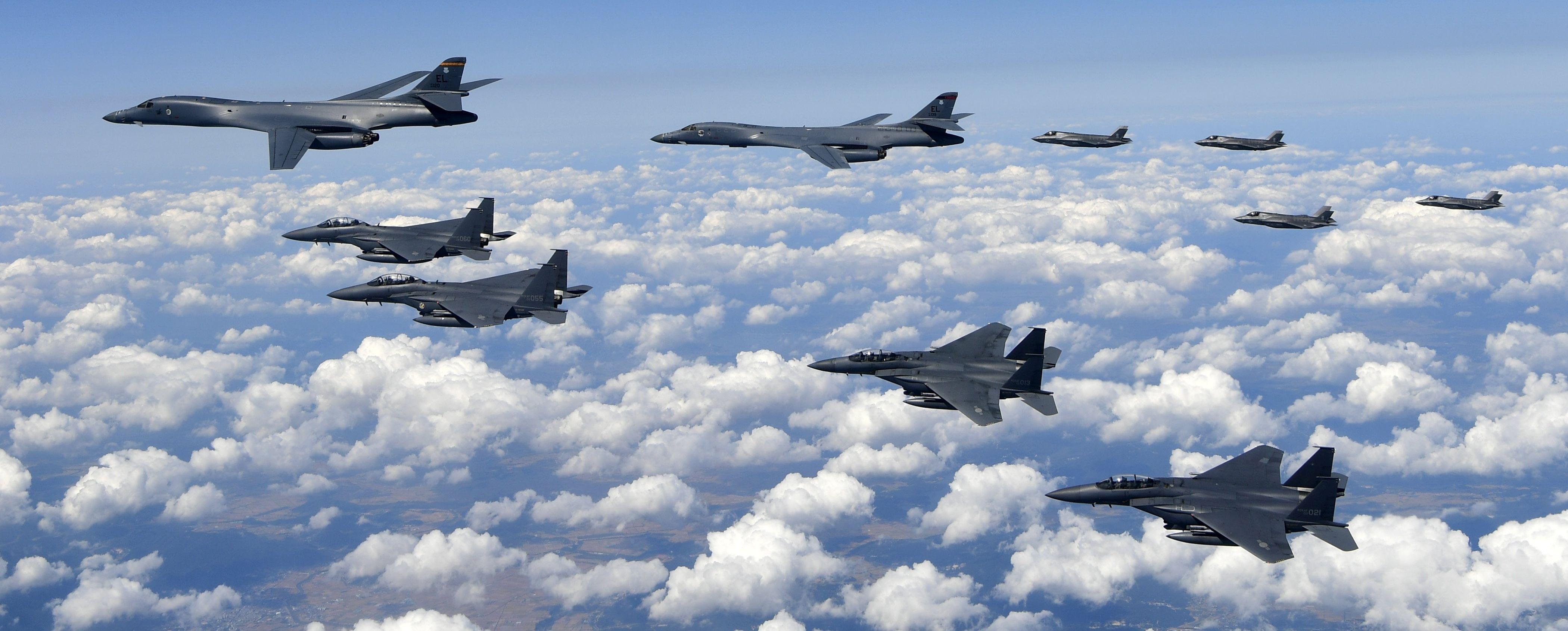 Američki bombarderi letjeli blizu sjevernokorejske obale