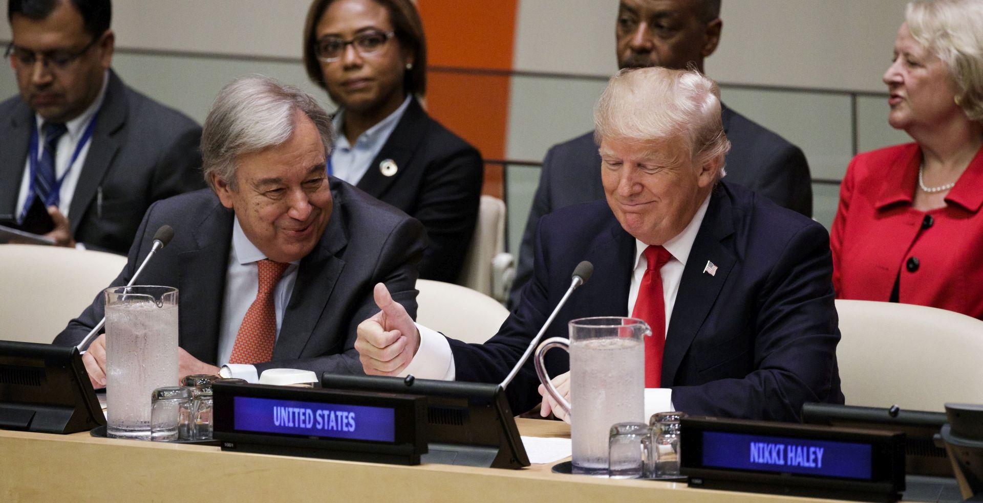 """""""ROCKET MAN"""" Trump zaprijetio """"potpunim uništenjem"""" Sjeverne Koreje"""