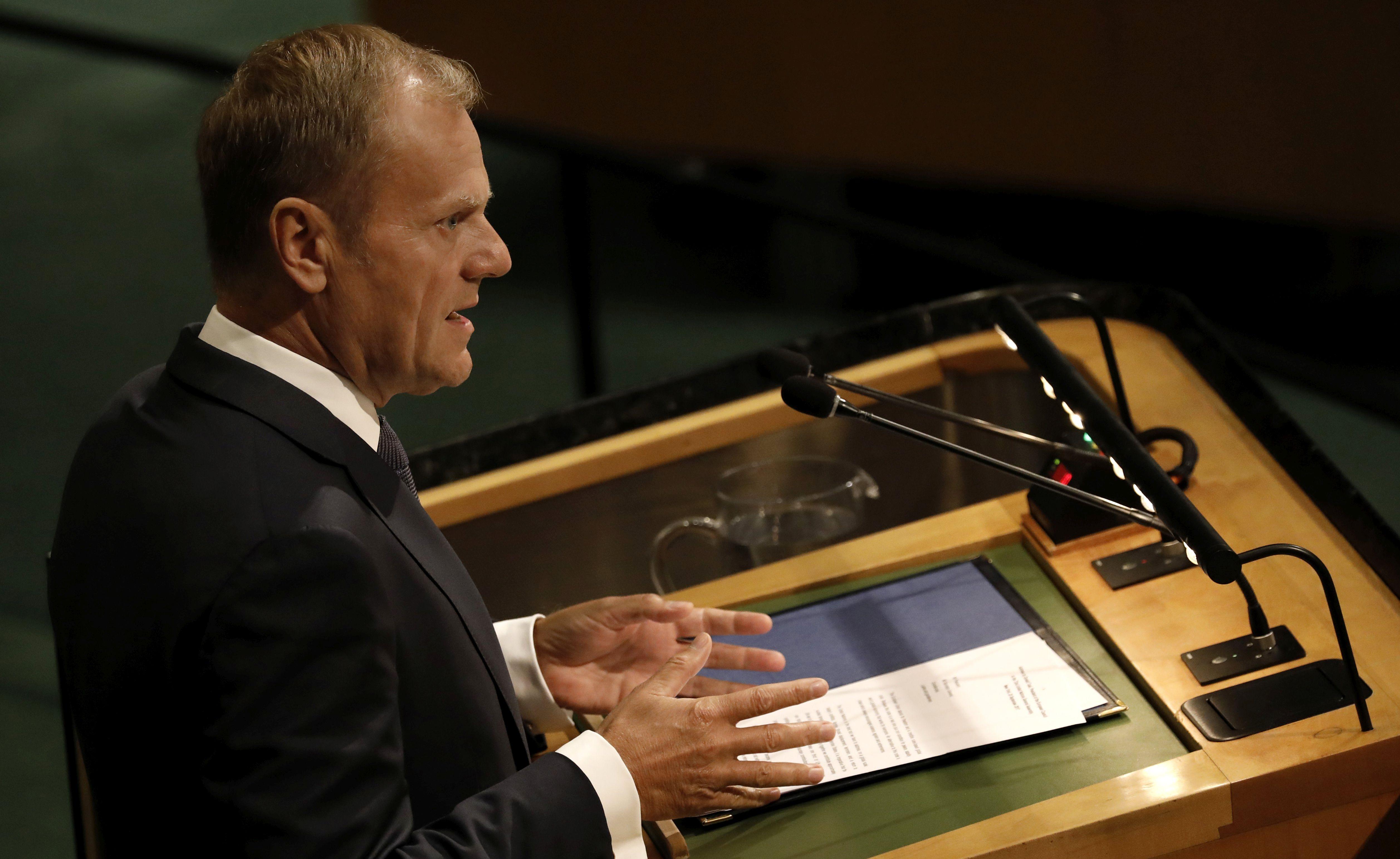 Tusk nazvao plan o reformi UN-a nužnim minimumom