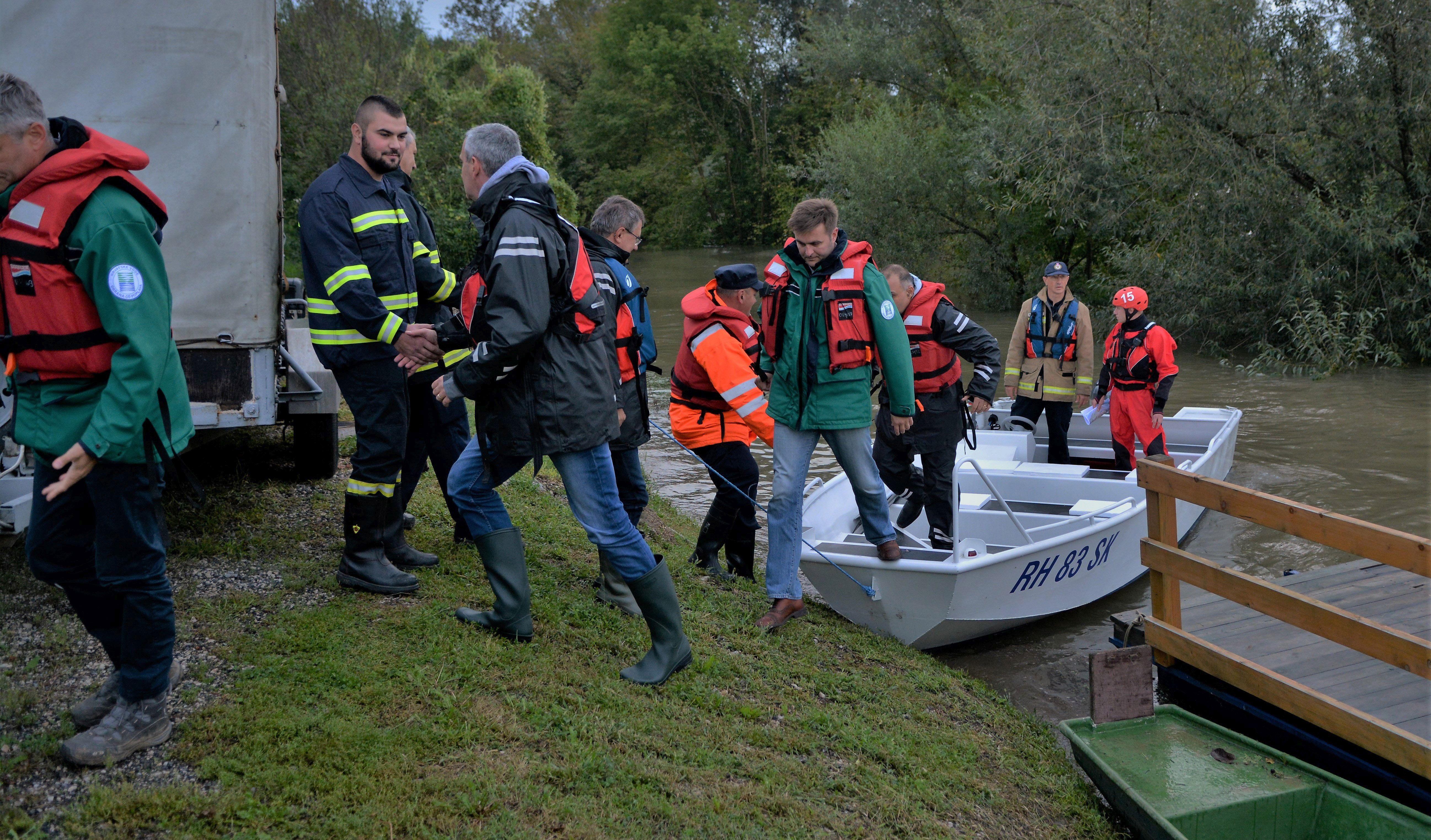 Ministar Ćorić u Karlovcu o potrebi završetka sustava obrane od poplave