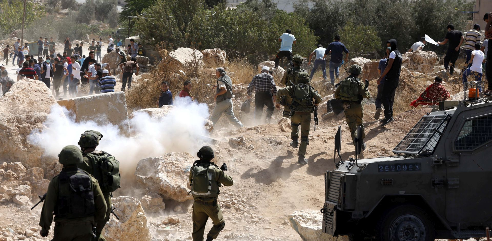 ZAPADNA OBALA Naoružani Palestinac ubio tri Izraelca, ranjene još četiri osobe