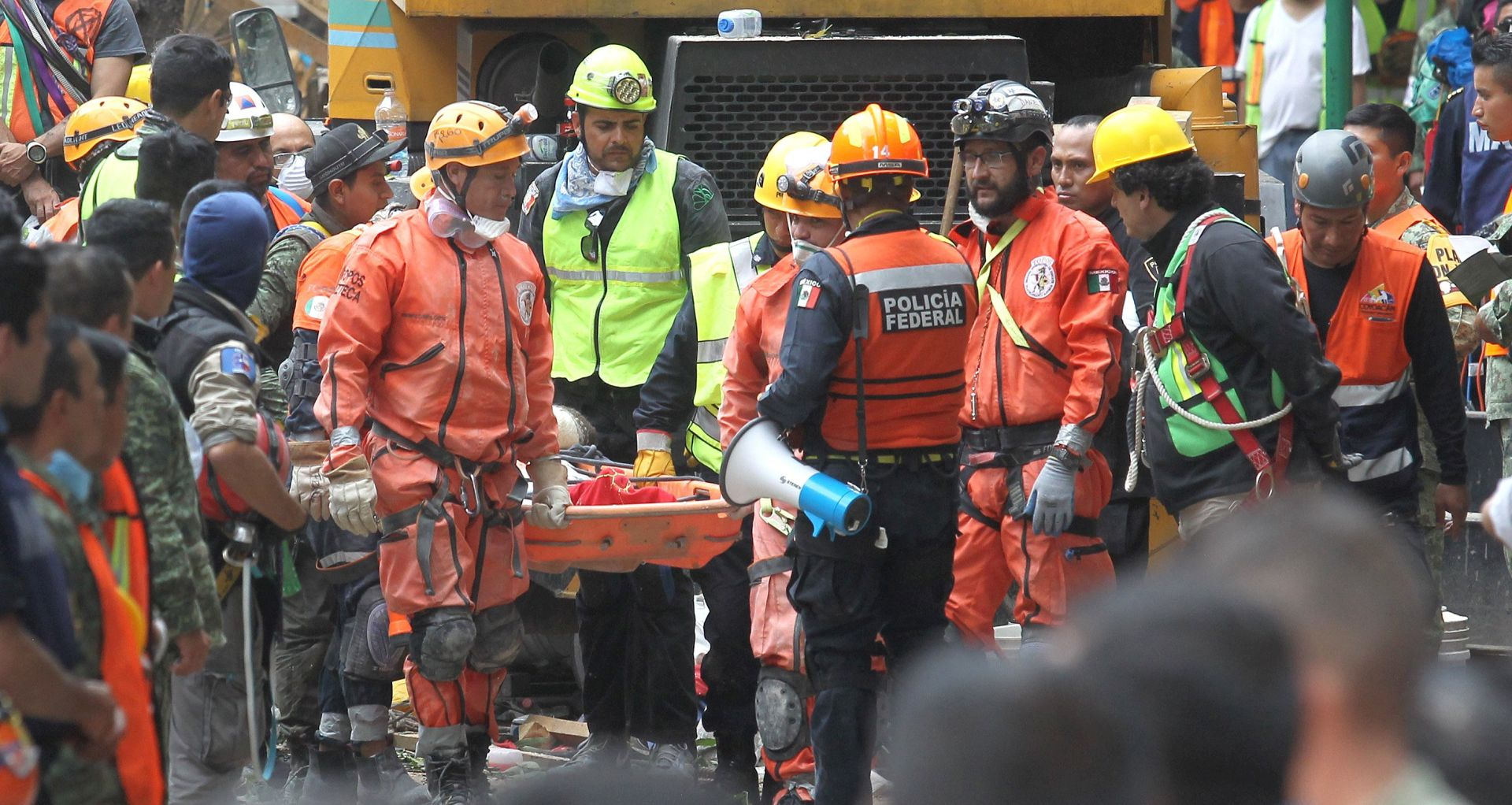 Nakon potresa u Meksiku 70 spašenih, sve manje nade da ima još preživjelih