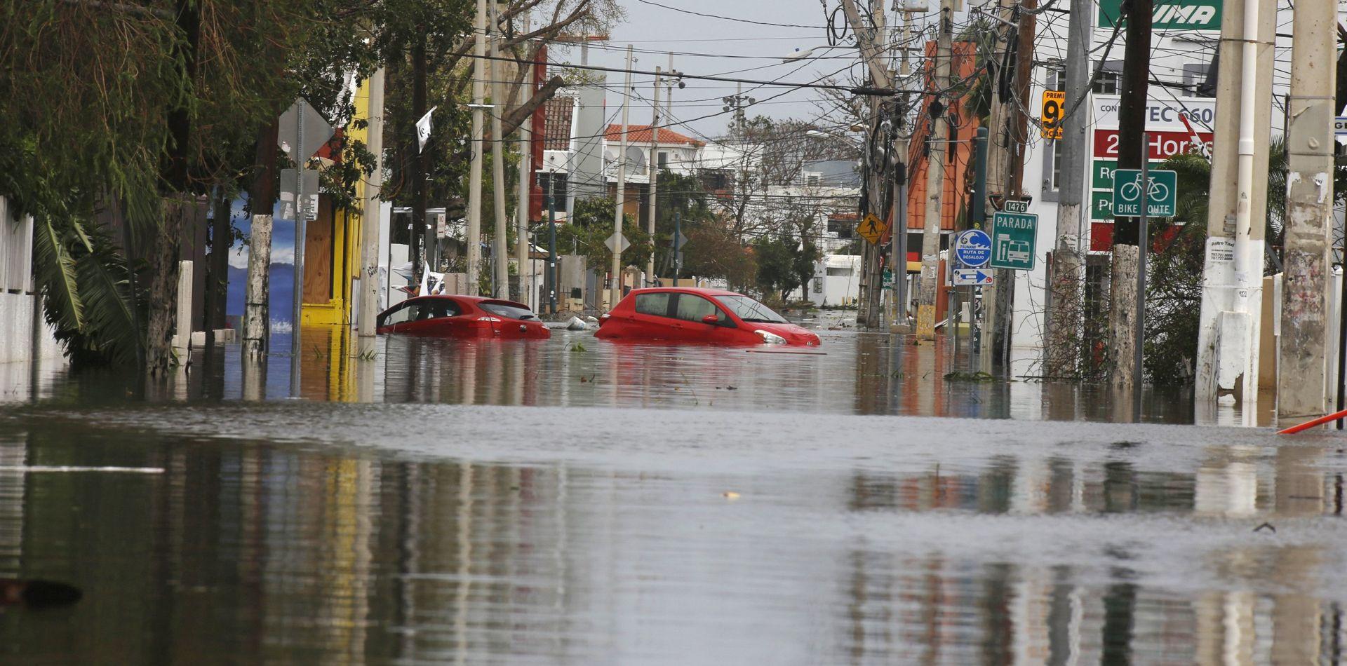 Uragan Maria prijeti rušenjem brane u Portoriku