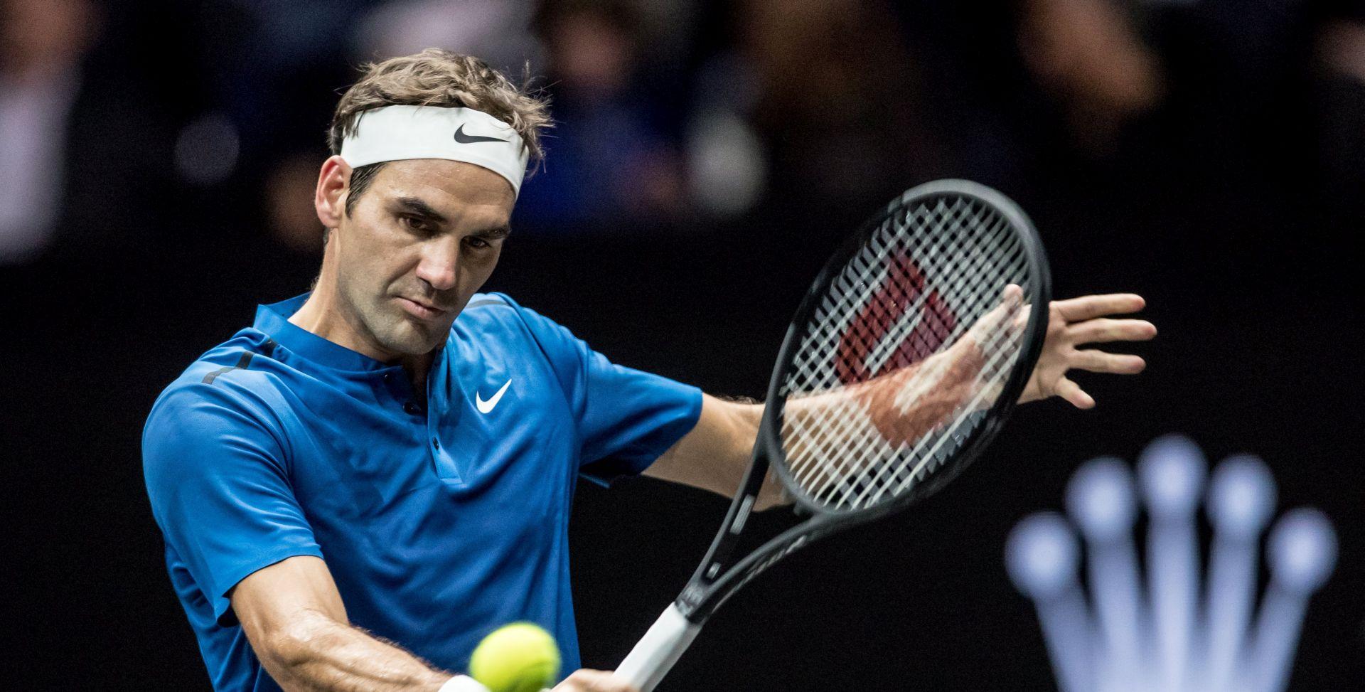 Federer nastupa na turniru u Rotterdamu