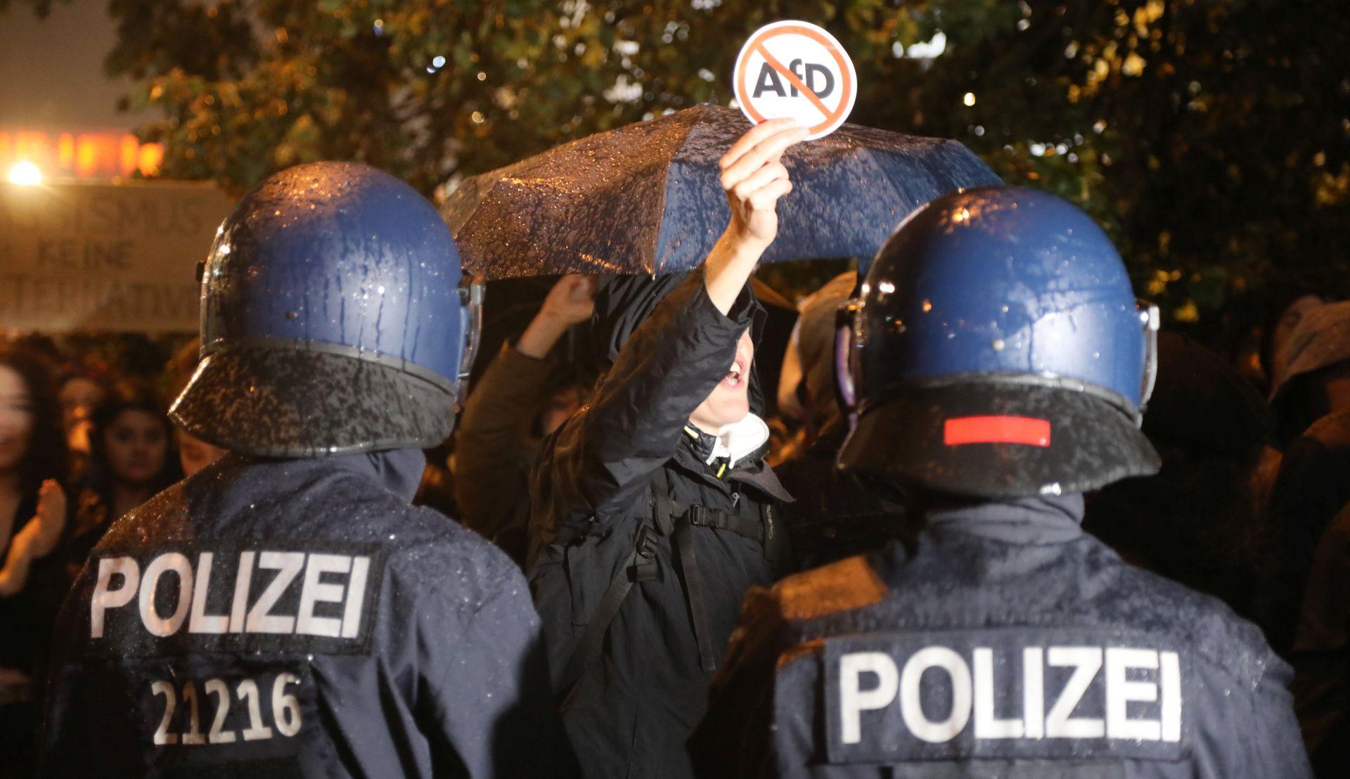 Prosvjedi protiv Afd-a u Berlinu
