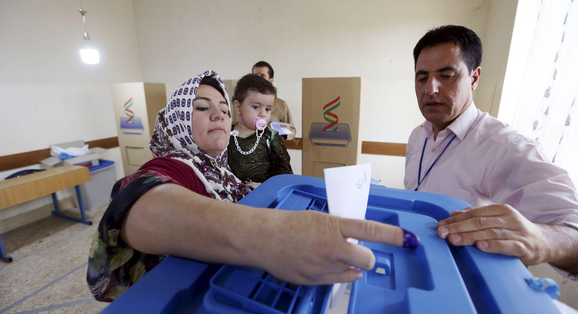 Kurdi glasovali na referendumu o neovisnosti iračkog Kurdistana