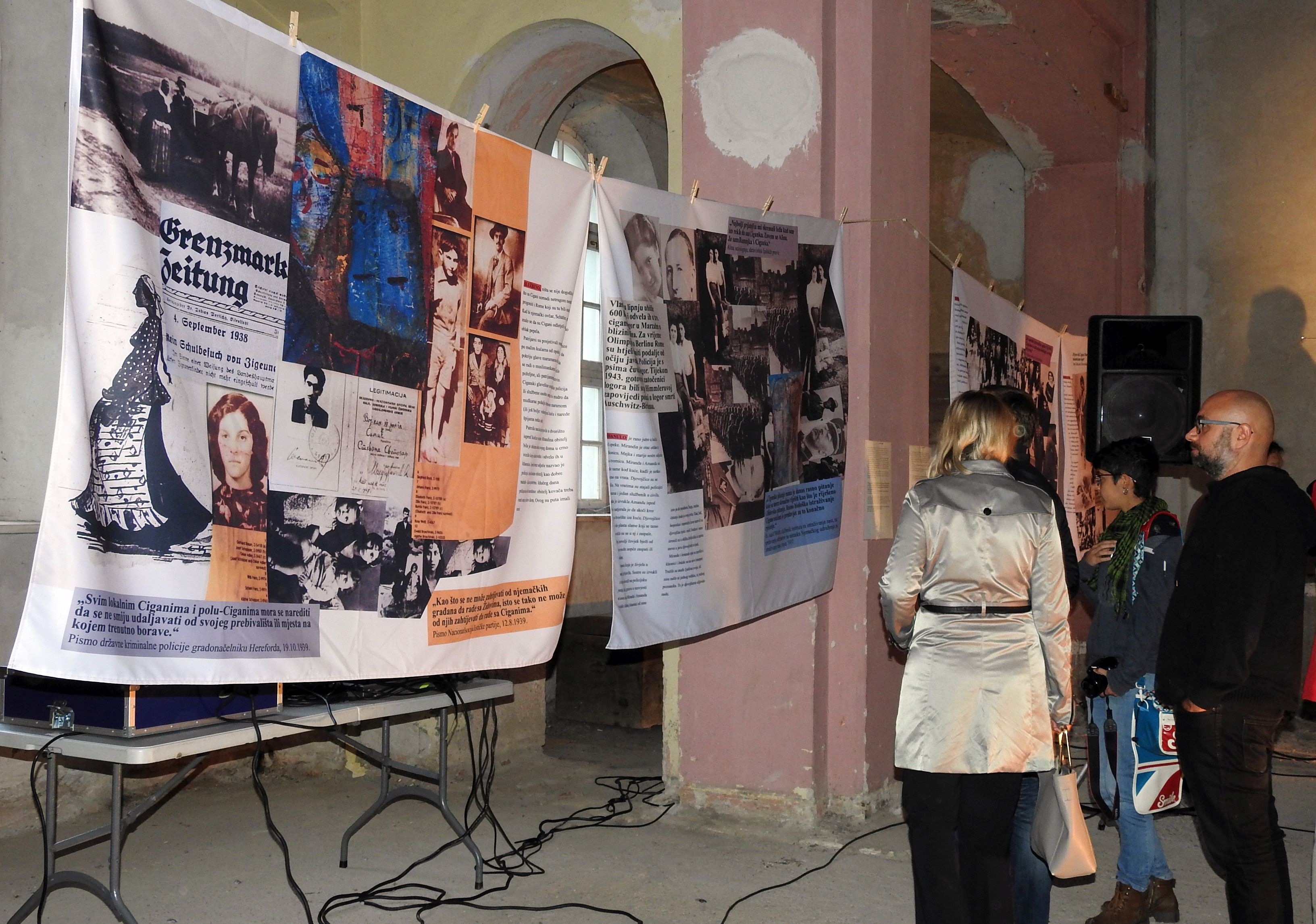 U Varaždinu izložba 'Miranda – Holokaust Roma'