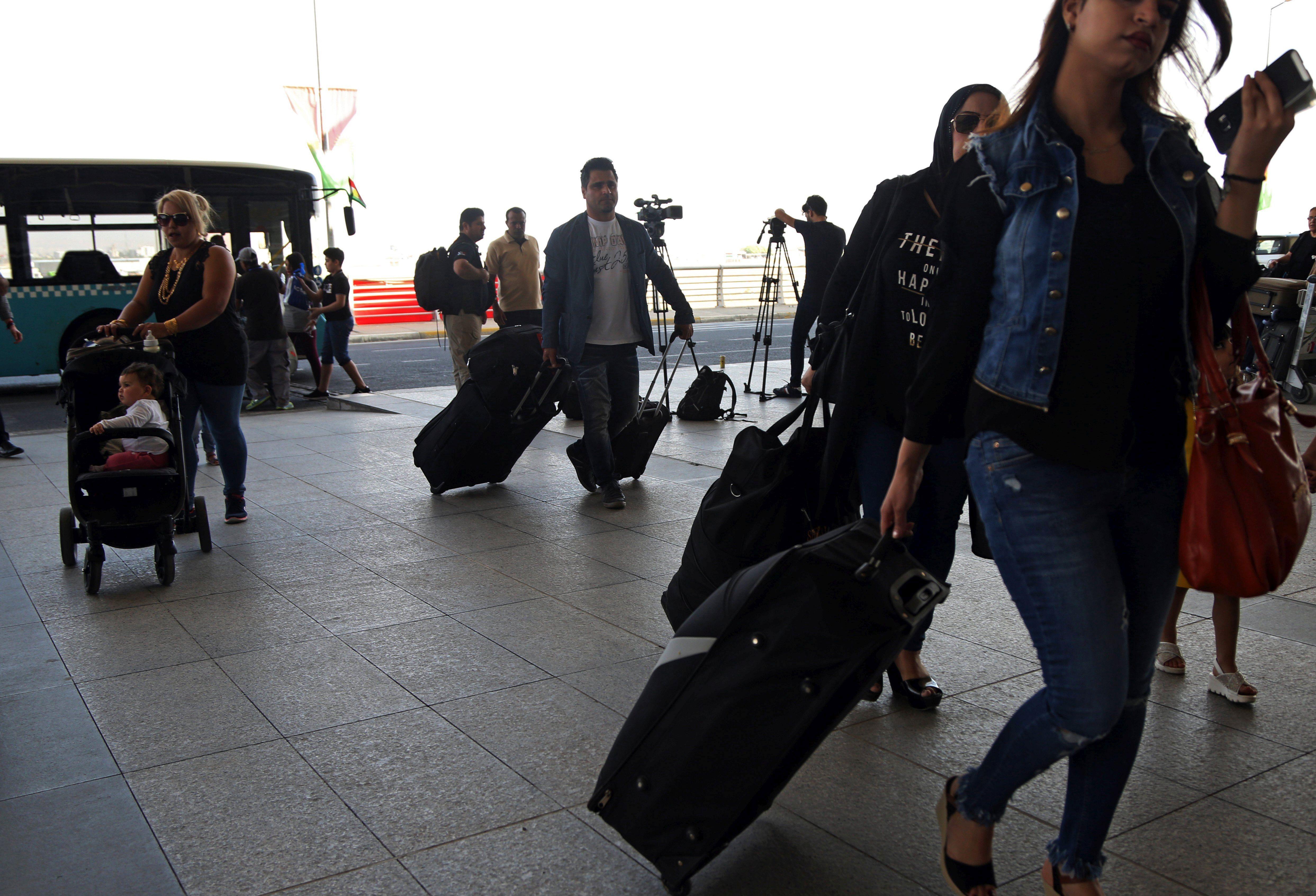 Prekid zrakoplovnih veza Kurdistana i inozemstva stupio na snagu