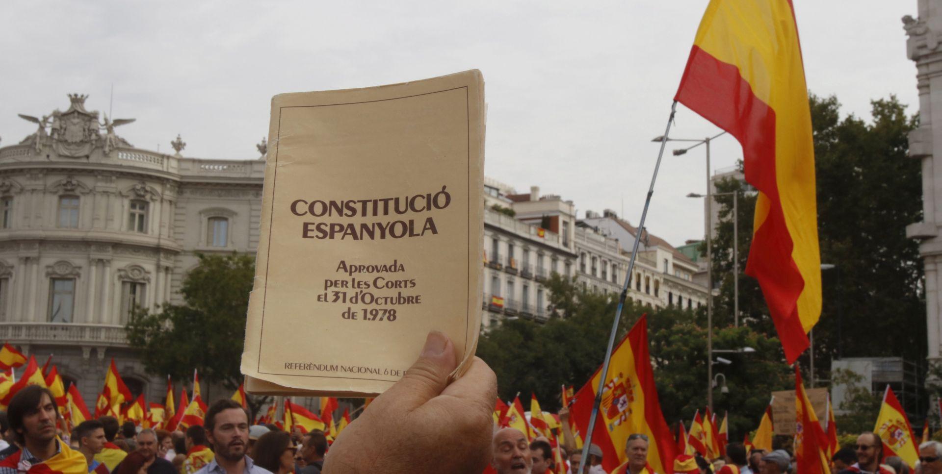 U Madridu 10.000 prosvjednika protiv referenduma u Kataloniji