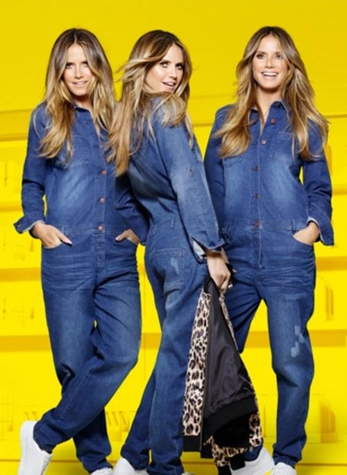 Kombinezon Heidi Klum u Lidlovim trgovinama