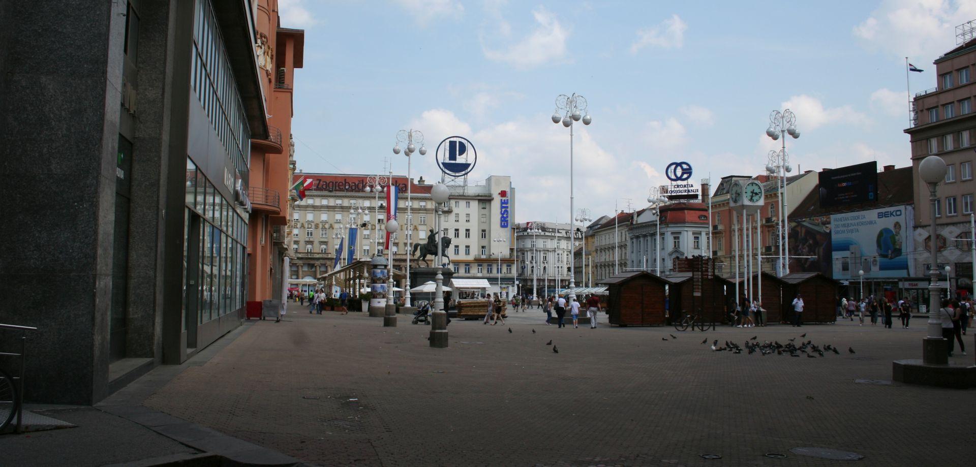 Sajam Retro tržnica na središnjem zagrebačkom trgu