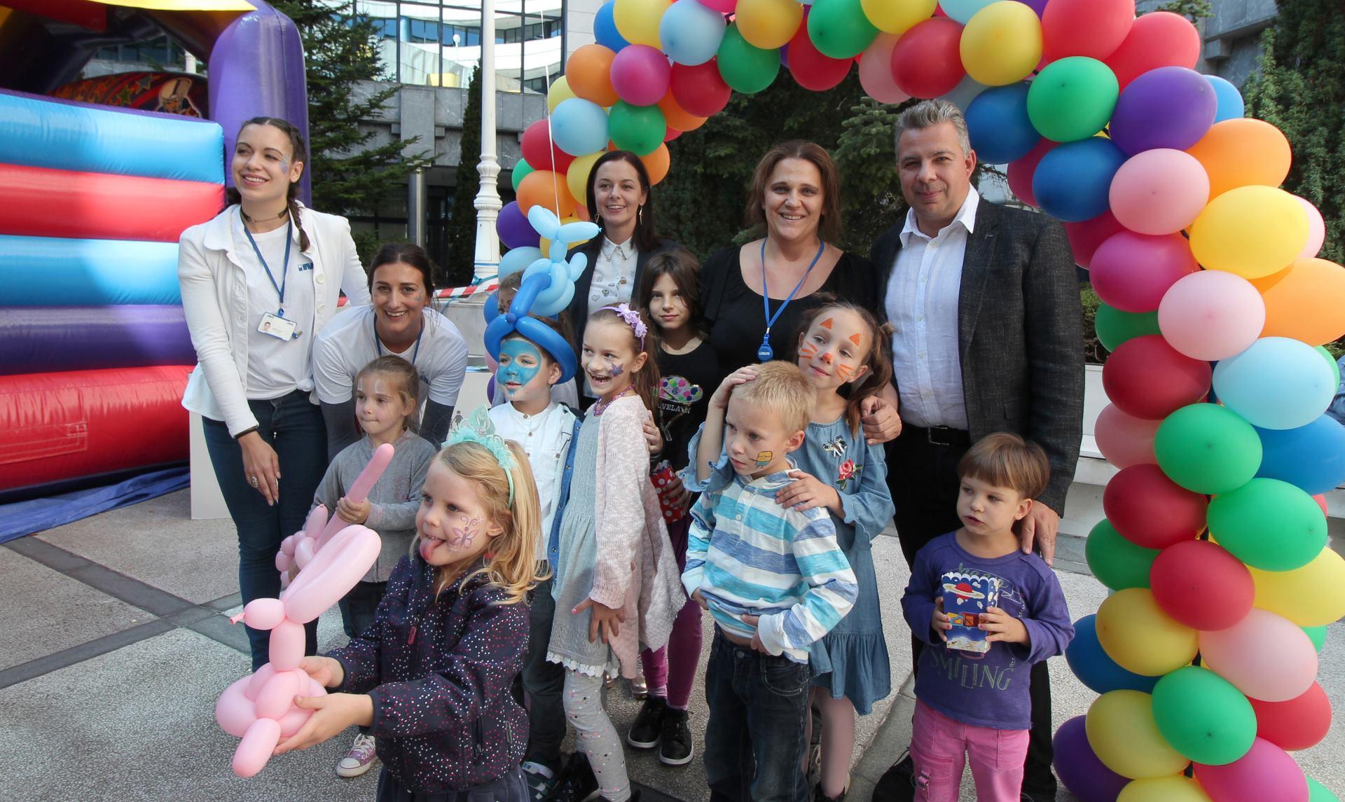 Više od 500 mališana sudjelovalo u novom Ininom projektu 'S roditeljima na poslu'