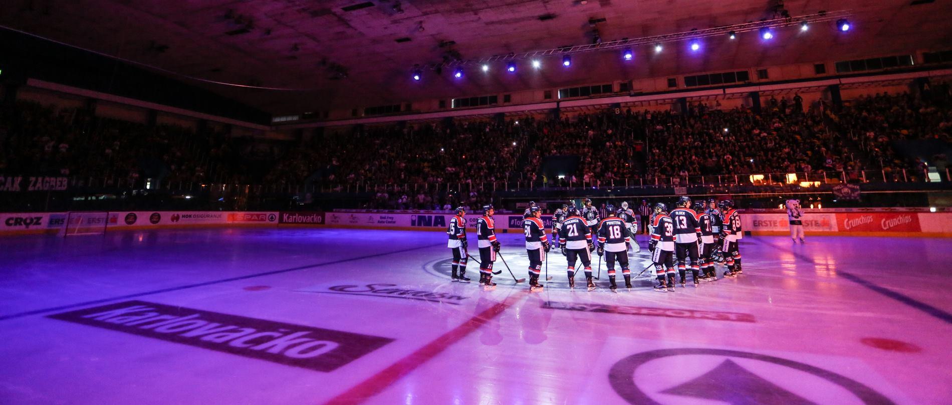 FOTO: Brojni poznati na prvoj domaćoj utakmici KHL Medveščaka