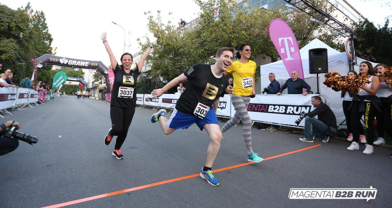 FOTO: Više od 4.5 tisuće poslovnjaka na MAGENTA 1 B2B RUN utrci u Zagrebu