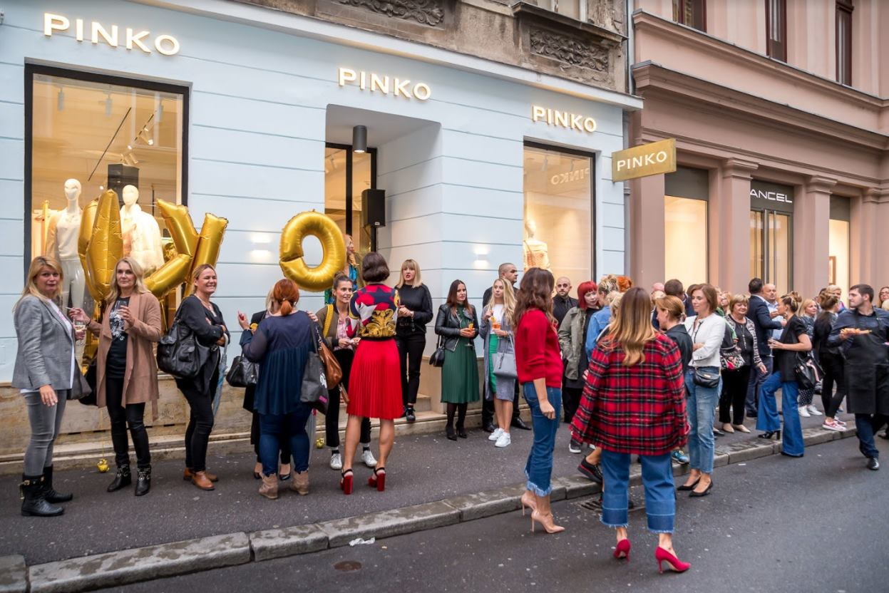 FOTO: Ekskluzivno otvorenje PINKO monobrend storea u Teslinoj ulici