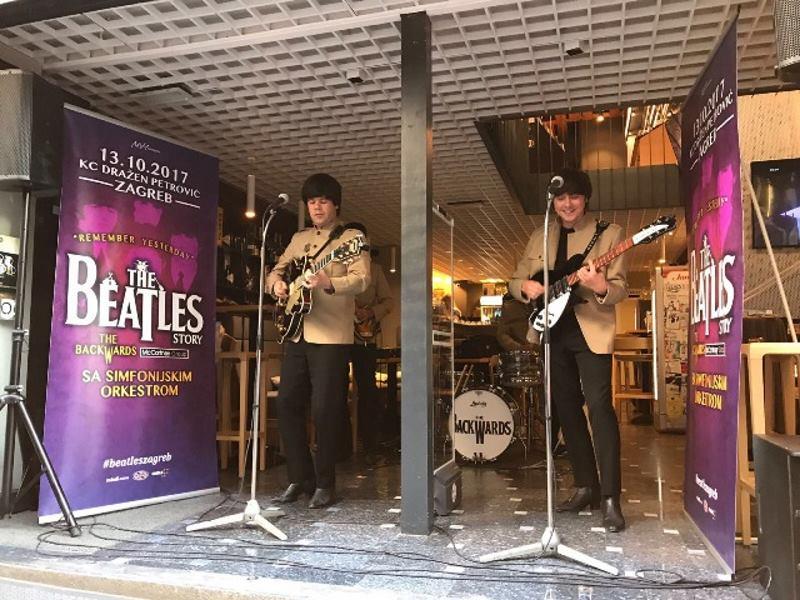 VIDEO: 'The Backwards' svojom izvedbom navjestili show 'Remember Yesterday – The Beatles Story'