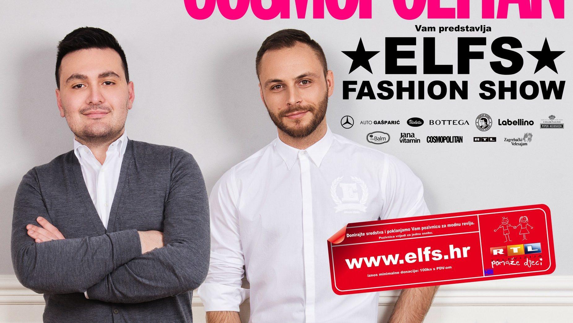 FOTO: Modni dvojac ELFS najavljuje samostalnu reviju humanitarnog karaktera