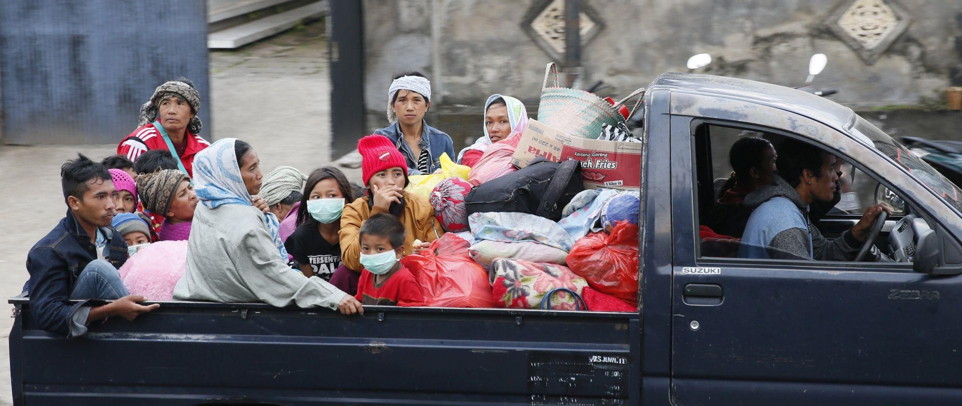 Na Baliju evakuirano gotovo 50.000 stanovnika iz straha od erupcije vulkana