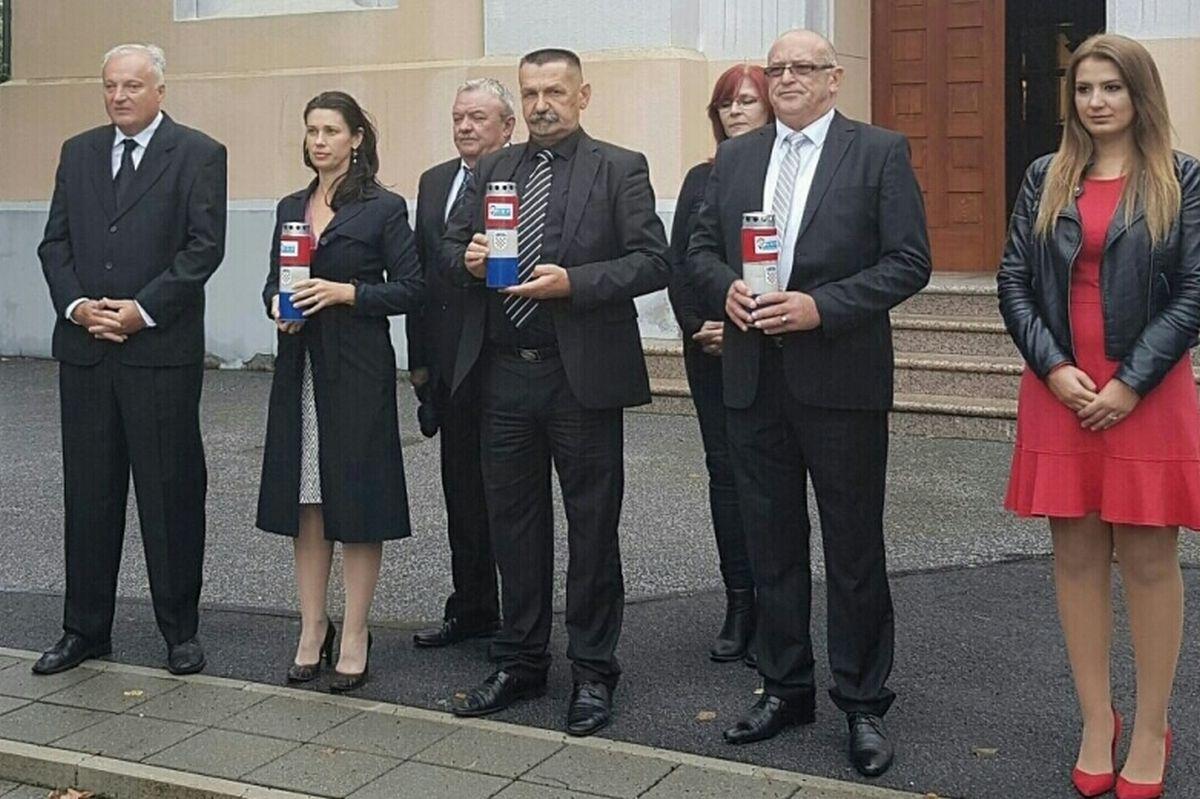HSP AS uputio službeni zahtjev za postavljanje nove ploče u Jasenovcu