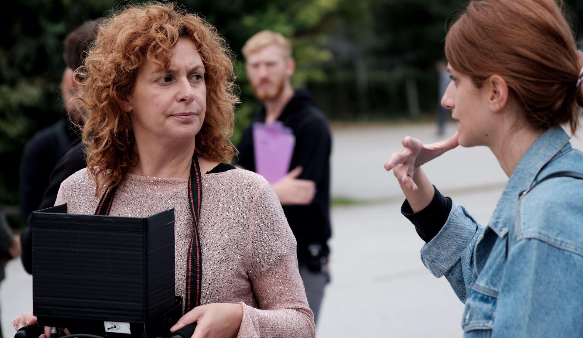 FOTO: Glumica Nina Violićponovo 'u ulozi' redateljice i scenaristice