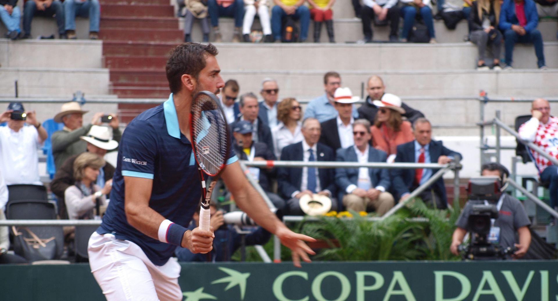 NAPETO U BOGOTI Davis Cup: Kolumbija – Hrvatska 1-1