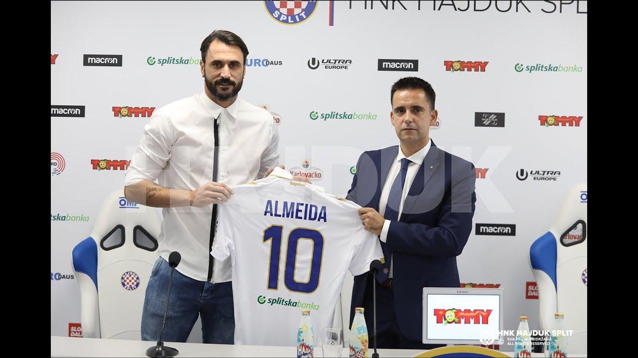 """VIDEO: PREDSTAVLJEN ALMEIDA """"Moj cilj je postizati golove i tako pomoći momčadi u osvajanju titule"""""""