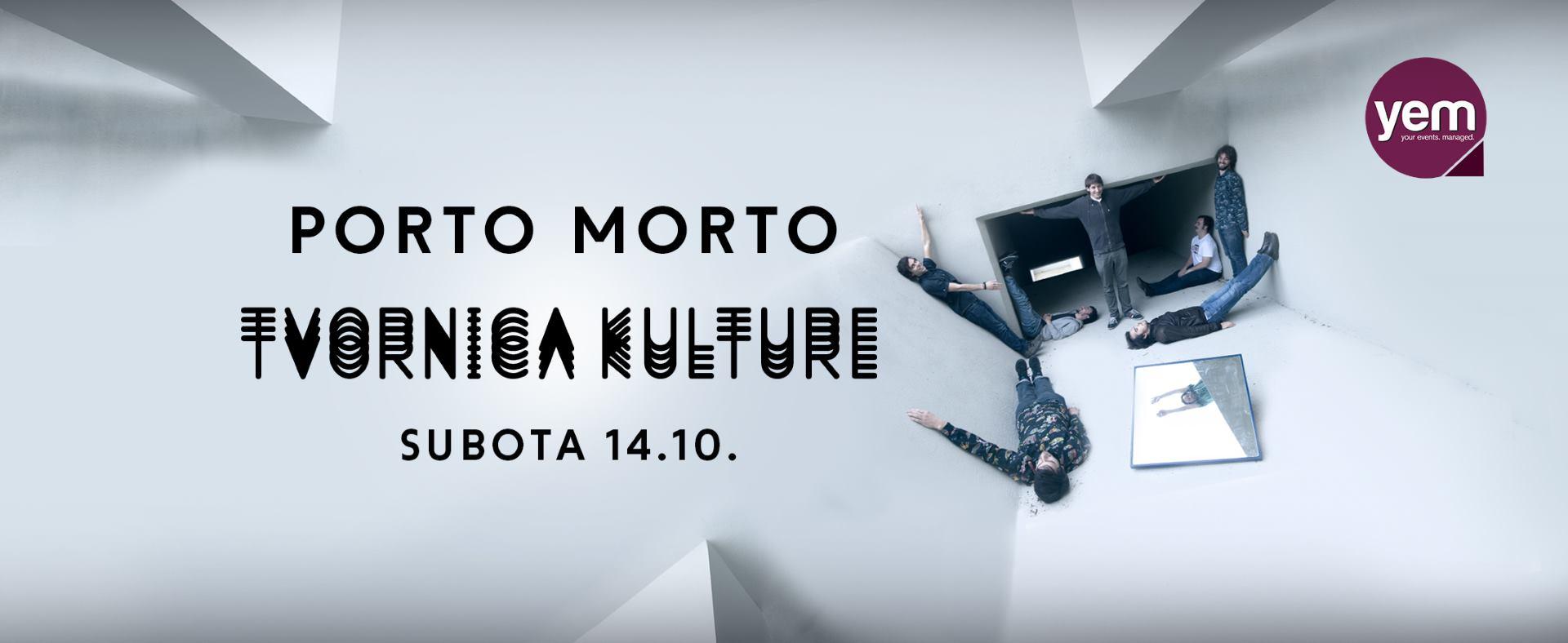 VIDEO: Grupa Porto Morto u Tvornici kulture