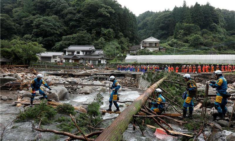 Tajfun Talim pogodio Japan, dvoje mrtvih