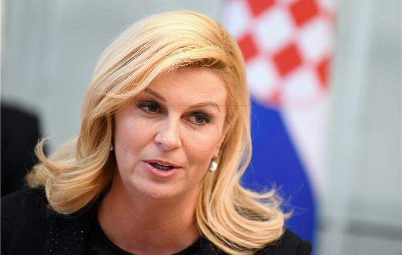 Grabar-Kitarović rekla da je Slovenija kompromitacijom arbitraže ugrozila međunarodno pravo