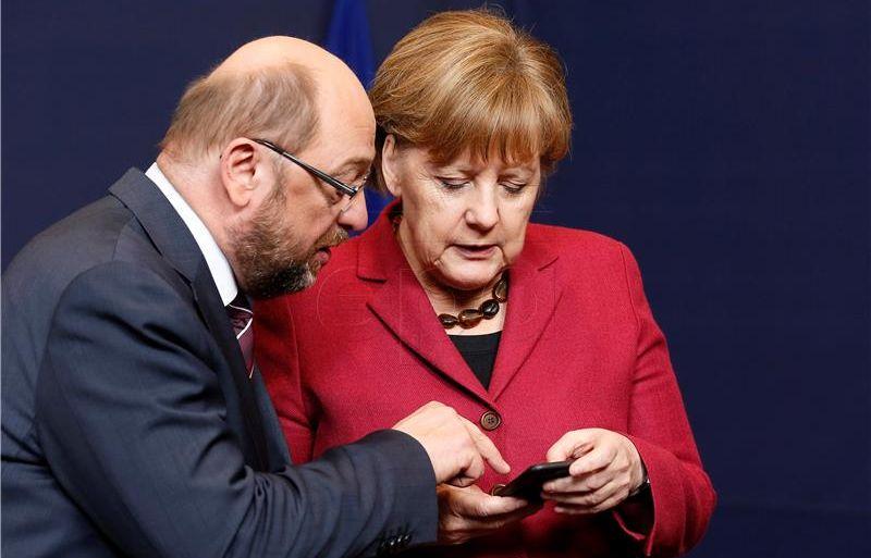 Nedjeljno TV sučeljavanje između Merkel i Schulz neće donijeti promjene