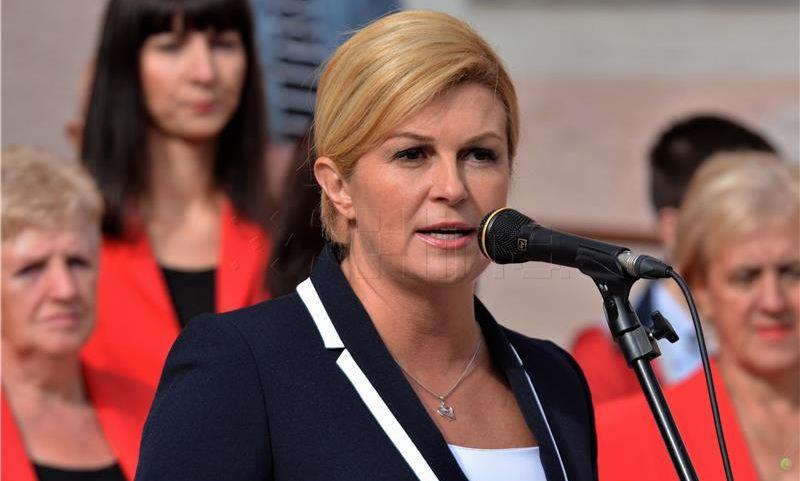 Predsjednica Grabar-Kitarović zabrinuta procesima u BiH i retorikom prema Hrvatskoj