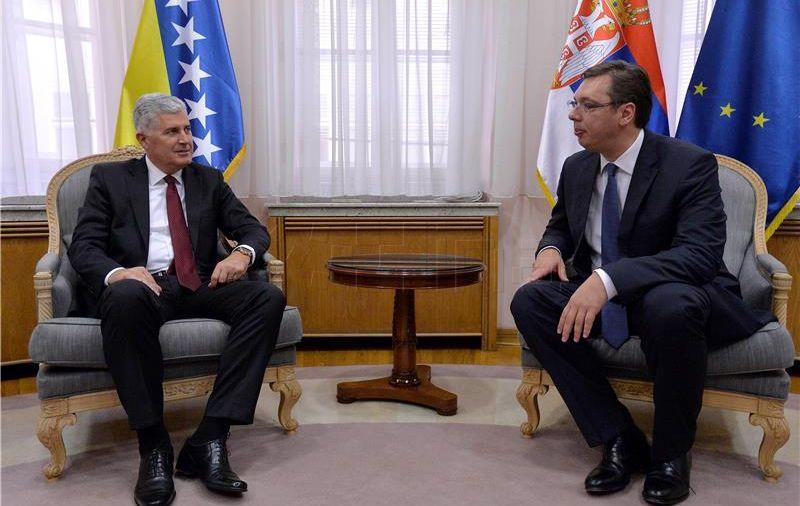 VUČIĆ U SARAJEVU 'Srbija nije bauk, nitko je se ne treba plašiti'