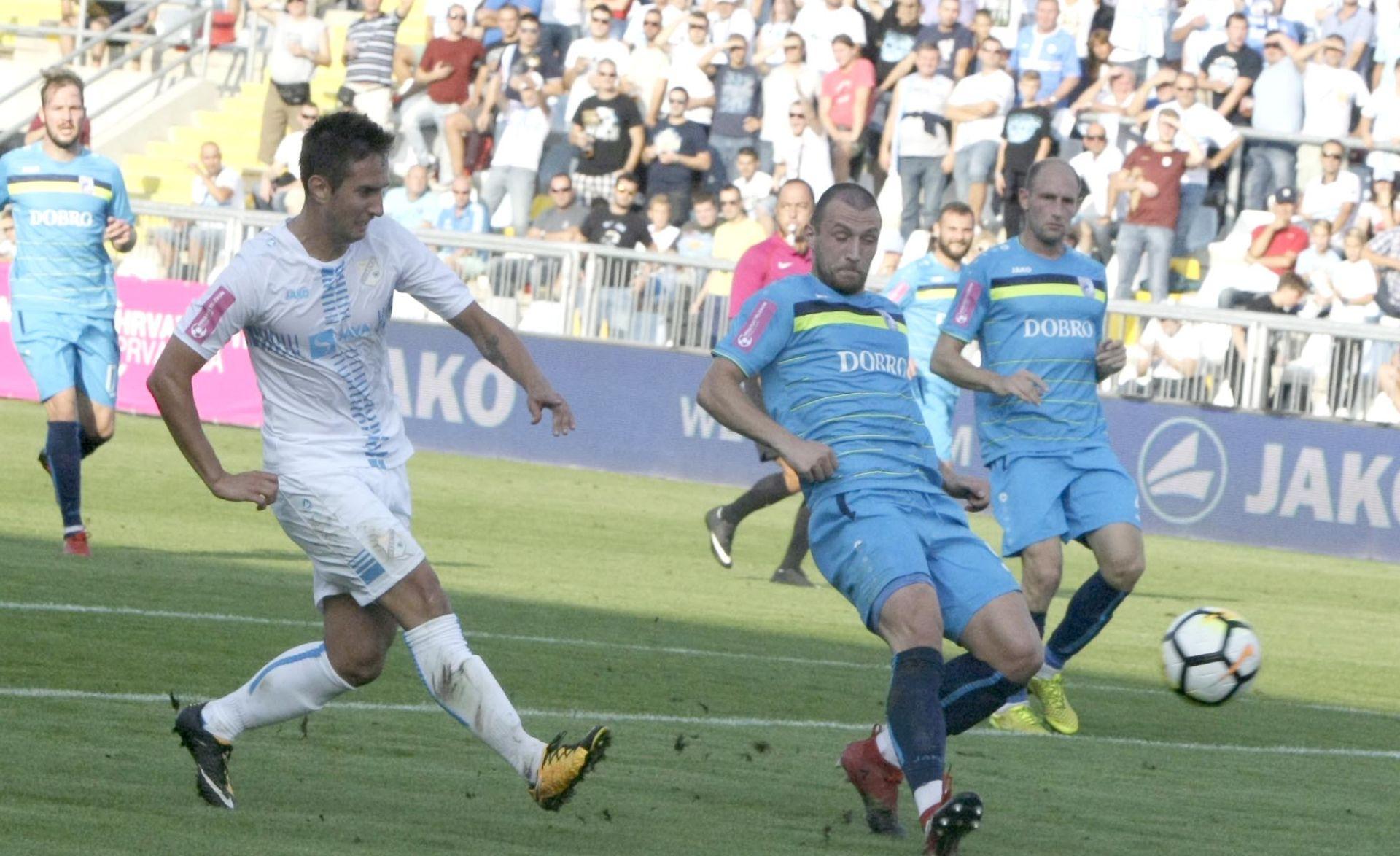 RASPUCANI PRVACI NATRPALI VINKOVČANE HNL:Rijeka – Cibalia 7-0