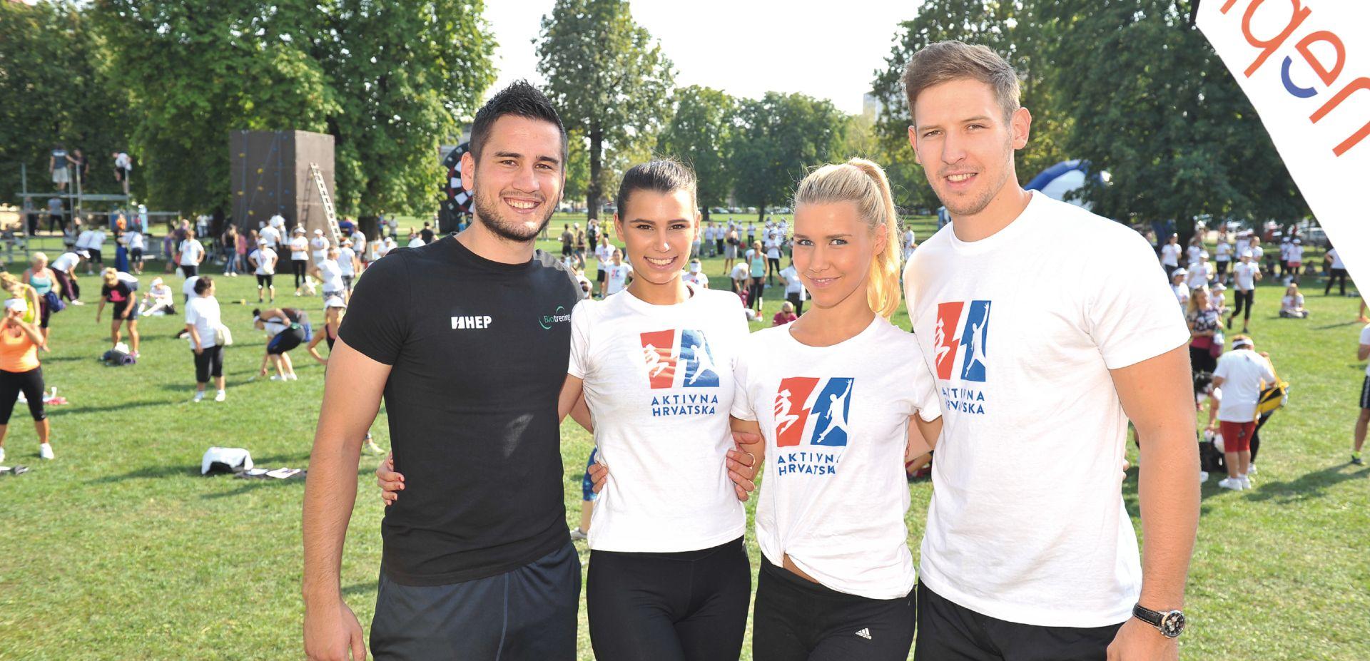Kako je 25 tisuća hrvatskih građana počelo vježbati kroz projekt 'Aktivna Hrvatska'