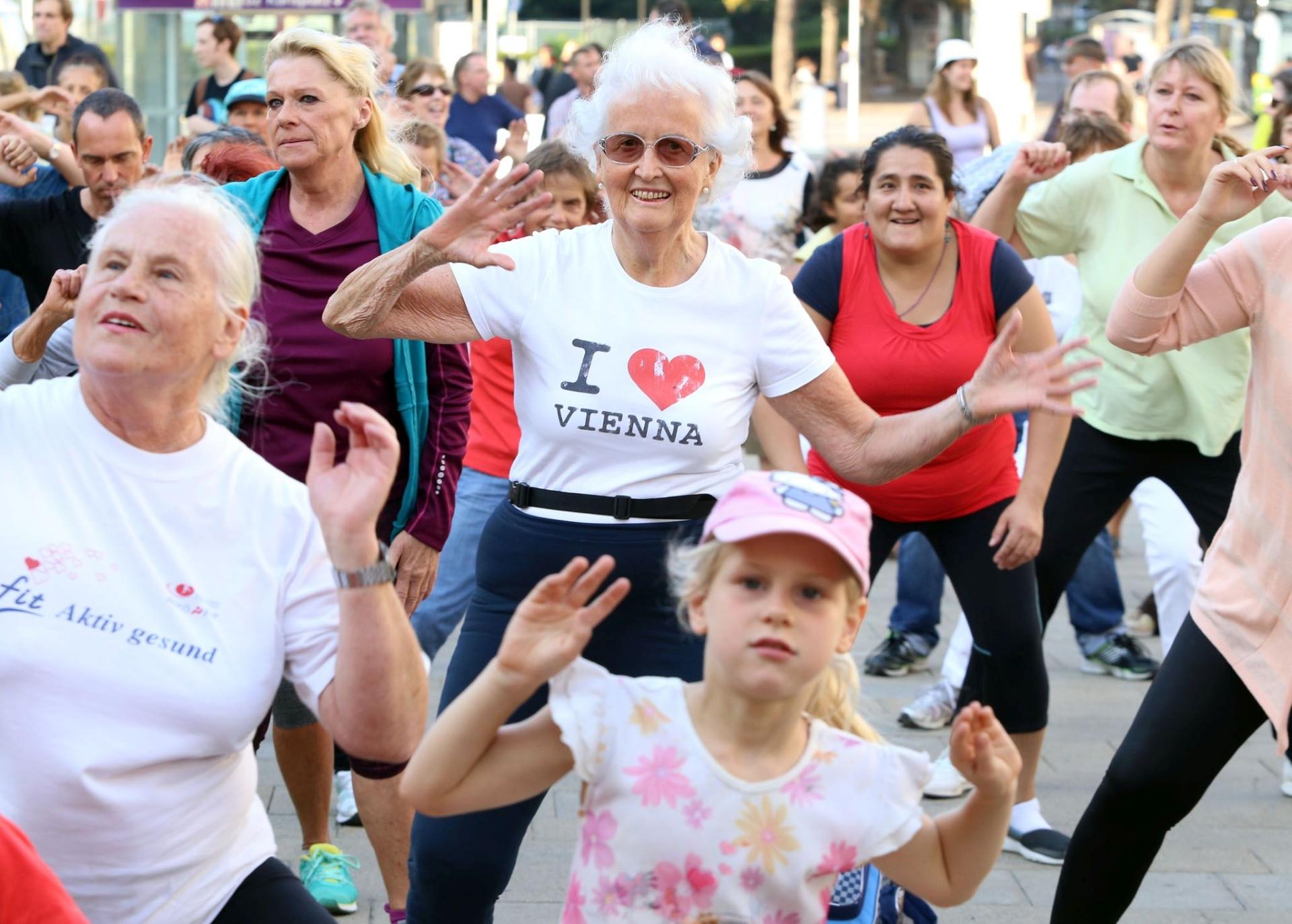Grad Beč promiče sport i zdrav način života
