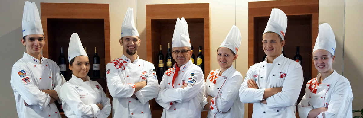 FOTO: Odlazak hrvatskih kuhara i slastičara u Prag na kulinarsko natjecanje Global Chefs Challenge