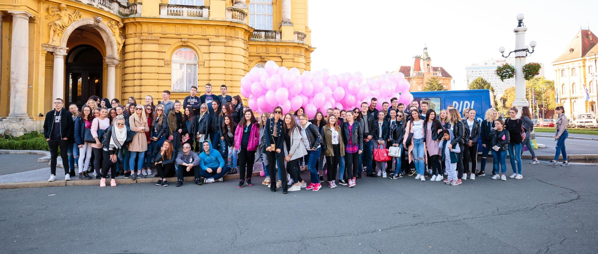 FOTO: Obilježen 18. dan ružičaste vrpce