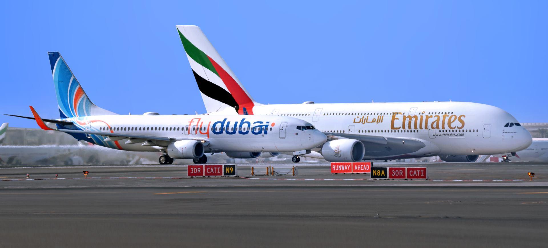Emirates i flydubai najavili prve rute na kojima će koristiti zajedničke oznake letova (codesharing)