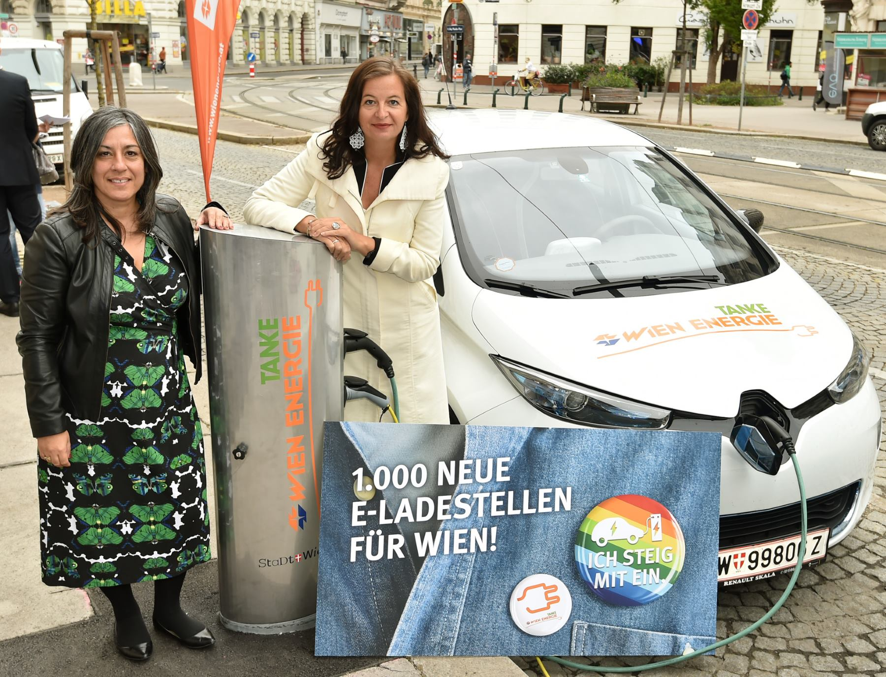 Do 2020. godine u Beču će biti postavljeno 1 000 novih punionica za automobile na električni pogon