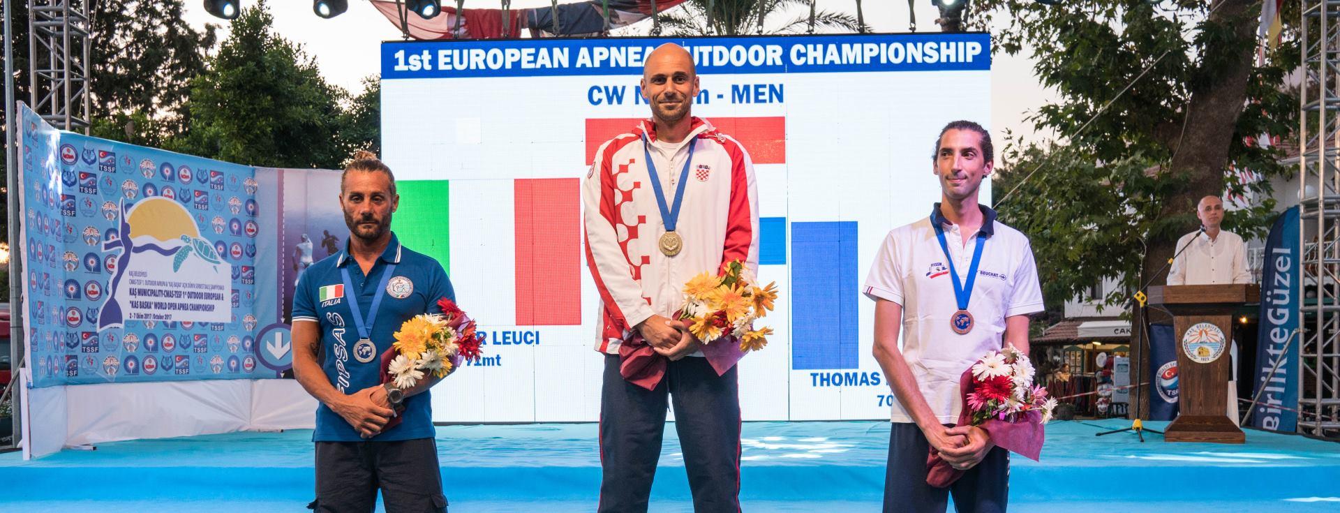 FOTO: Goran Čolak naEuropskom dubinskom prvenstvu ponovo obara rekorde